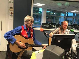 Richard Sutton and Graham Dee at BBC Radio Cambridgeshir