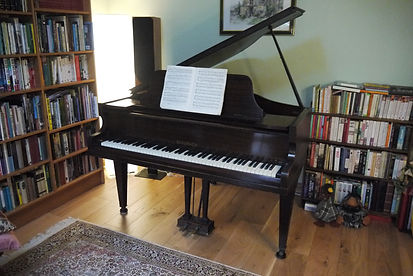 Richard Sutton's music studio