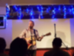 Richard Sutton, solo acoustic at the Cambridge Folk Club