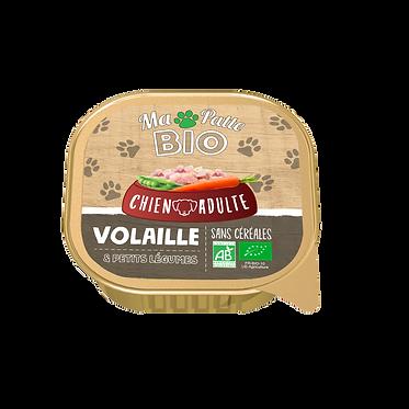 Fricassées à la volaille et aux petits légumes pour chien 9 x 300g