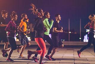 אימון ריצה בקבוצה