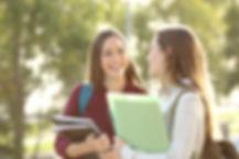 Estudantes femininas