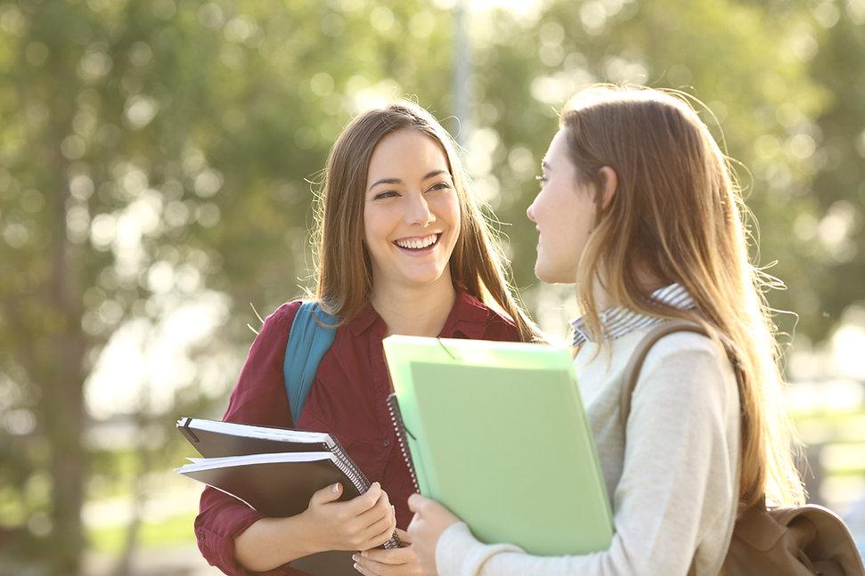 Vrouwelijke studenten