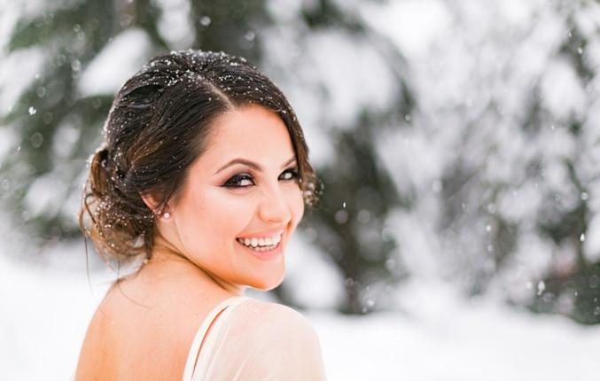 Estilos de maquillaje y peinado para novias en Invierno by Vanessa Lillo