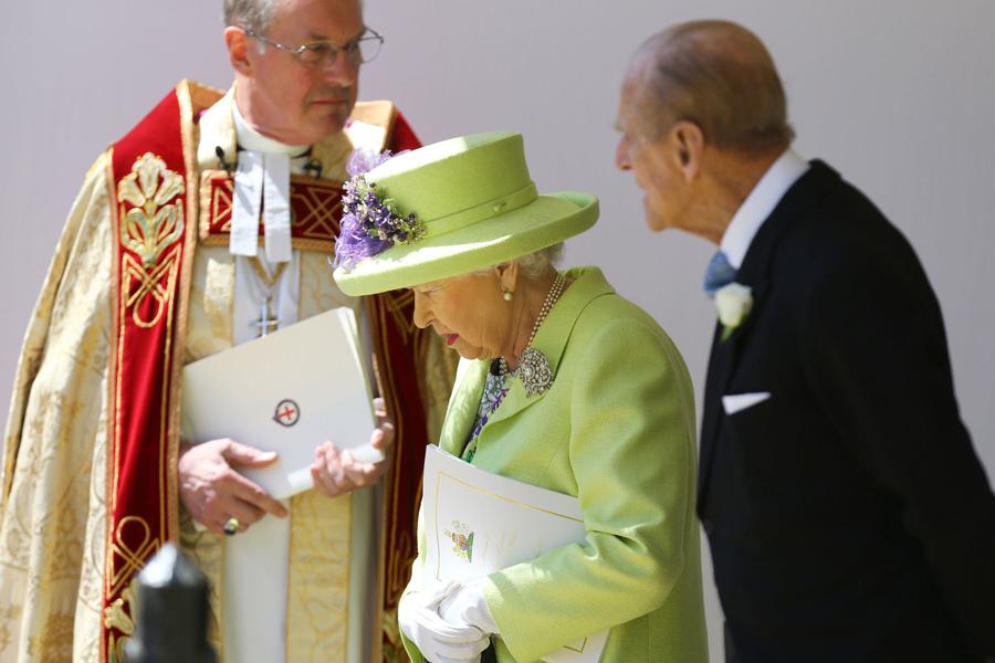 La Reina y el Principe Felipe