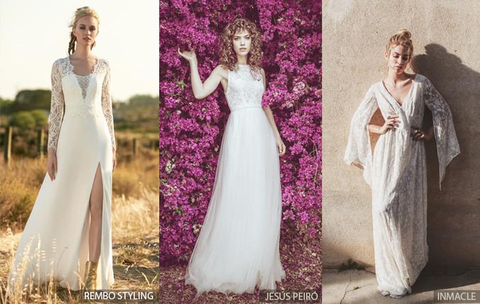 Tendencias 2018 en vestidos de novia