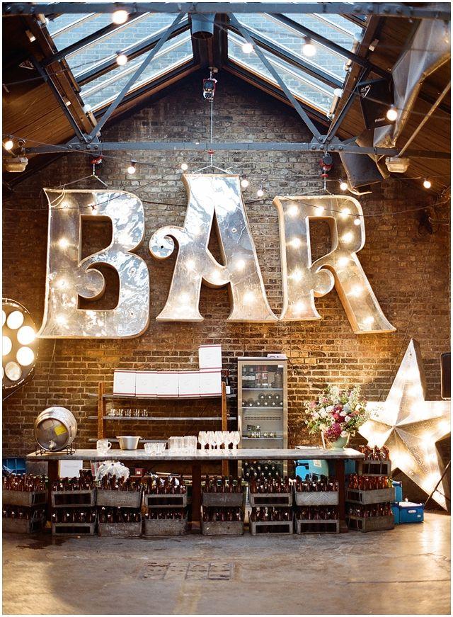 Decoración para bar