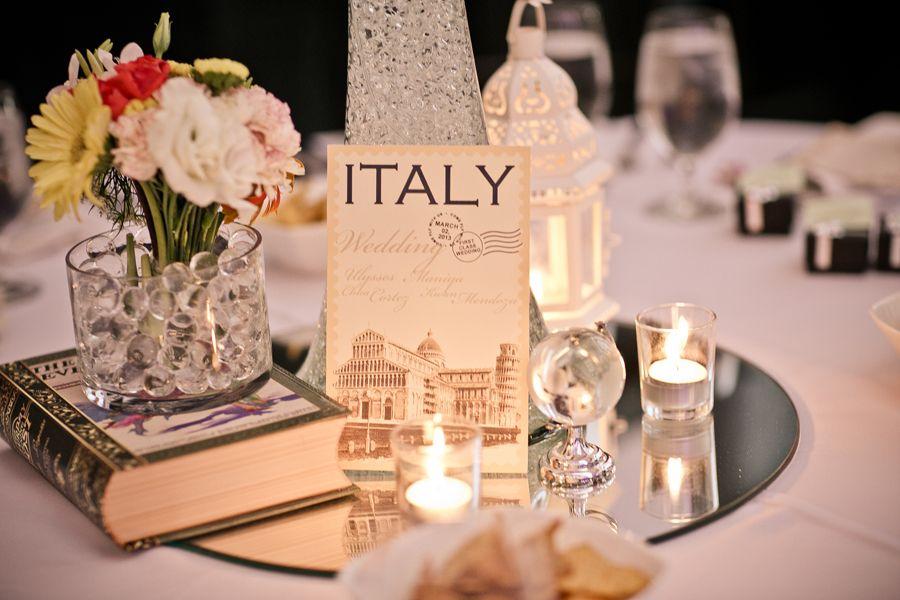 Decoración inspirada en Italia