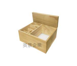 上掀摺疊木盒內裝