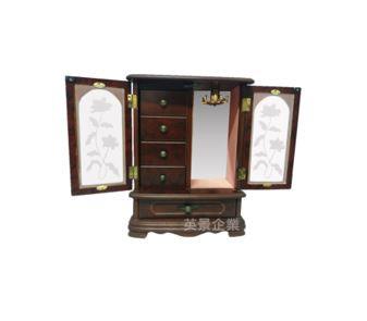 復古珠寶展示收納櫃內裝