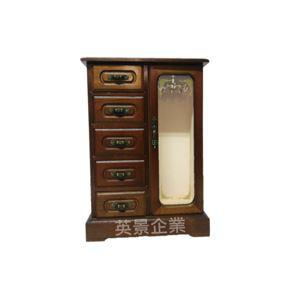 復古珠寶展示收納櫃