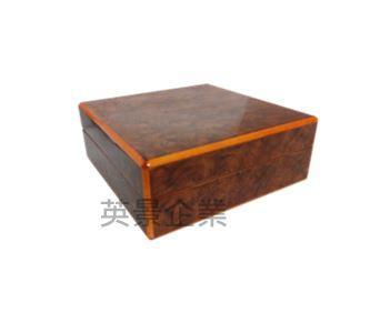木紋貼皮收納盒