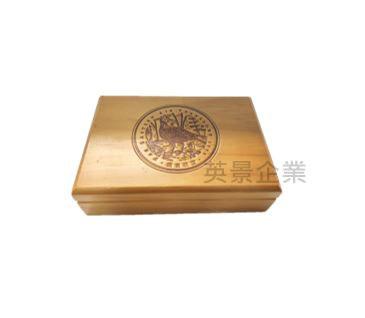 上掀式小木盒