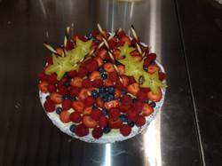 tarte aux fruits fais