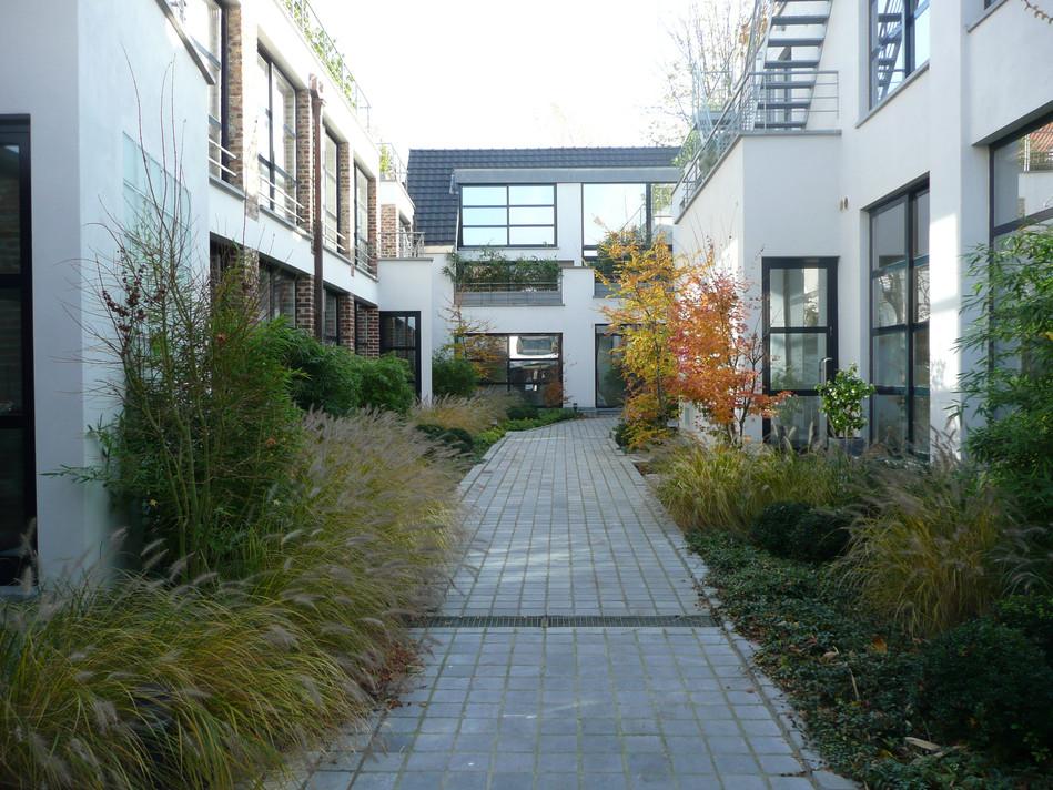 vertical lofts and garden