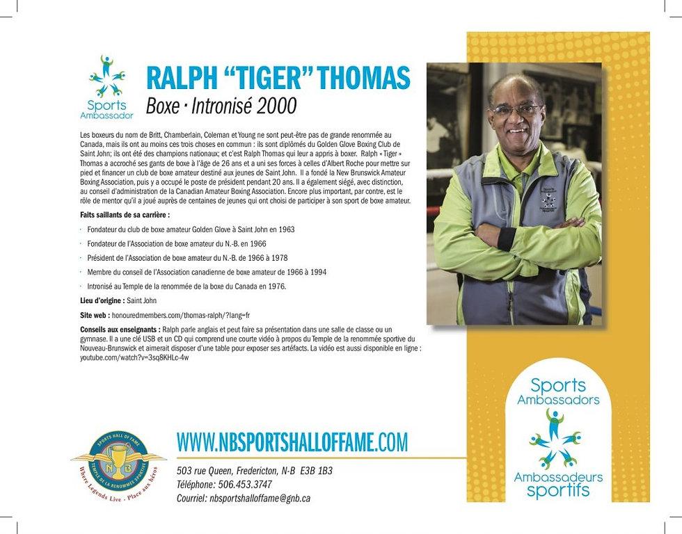 "Ralph ""Tiger"" Thomas fr"