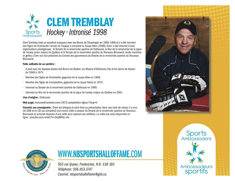 Clem Tremblay fr