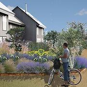 Maisons en bois passives et jardins partagés