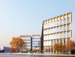 Eastwood - BFV Architectes- Immeubles de bureau ossature bois à Villeurbanne