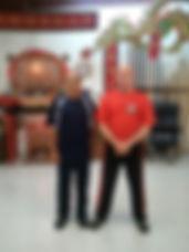 Wing Chun Sifu Vernon & Sifu Fong