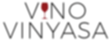 vino vinyasa yoga and wine logo