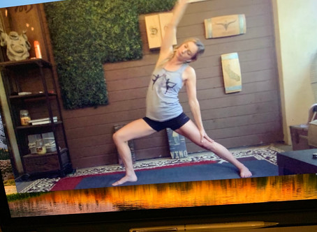 Behind the scenes: Virtual Vino Vinyasa