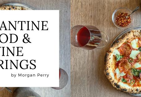 Quarantine Food & Wine Pairings