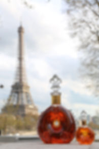 Cognac Louis XIII par Rémy Martin Cognac, shooting à Paris pour Rémy Cointreau