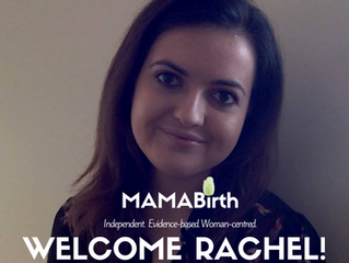 MAMABirth Welcomes Rachel!