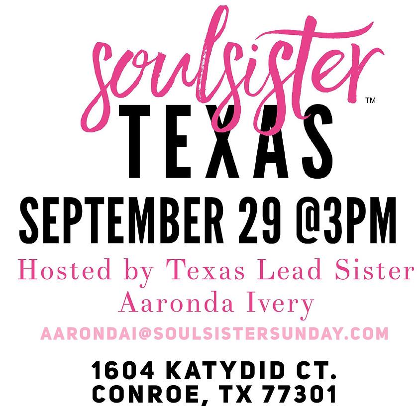SoulSister Sunday Texas