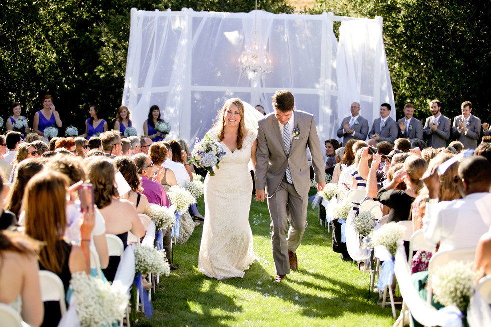 backyard wedding inspo