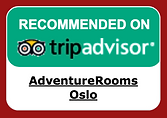 AdventureRooms Oslo Recommended on TripAdvisor