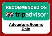 AdventureRooms Oslo Recommended on TripAdvisor