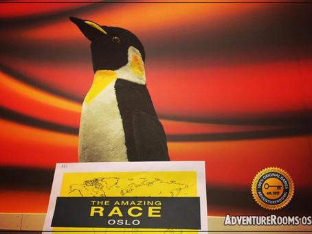 The Amazing Race: Escape from AdventureRooms Oslo!