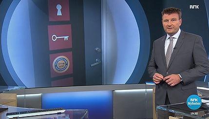 Fra escape room i Oslo på NRK Dagsrevyen