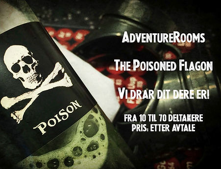 Poisoned Flagon, et escape box spill i Oslo