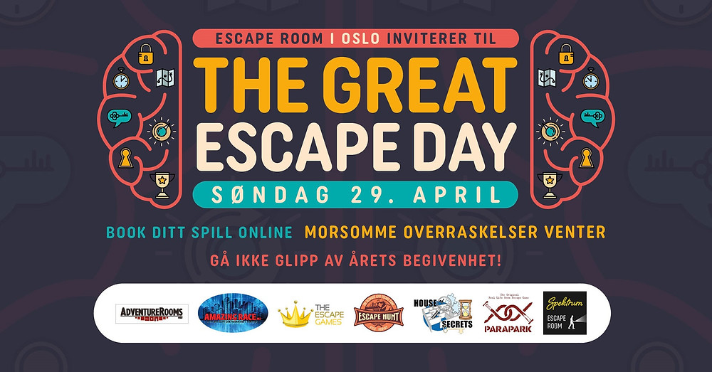 The Great Escape Day 2018 poster