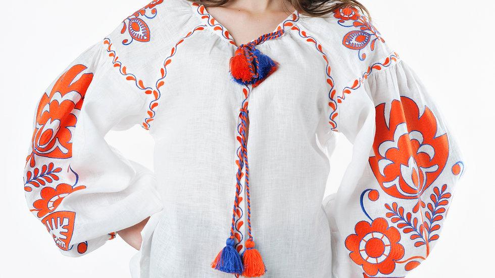 """Блузка """"Boho chik"""" біла"""