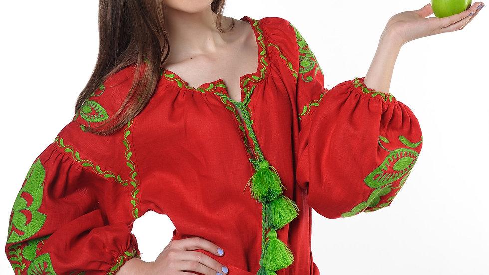 """Сукня """"Boho chik"""" максі червона"""