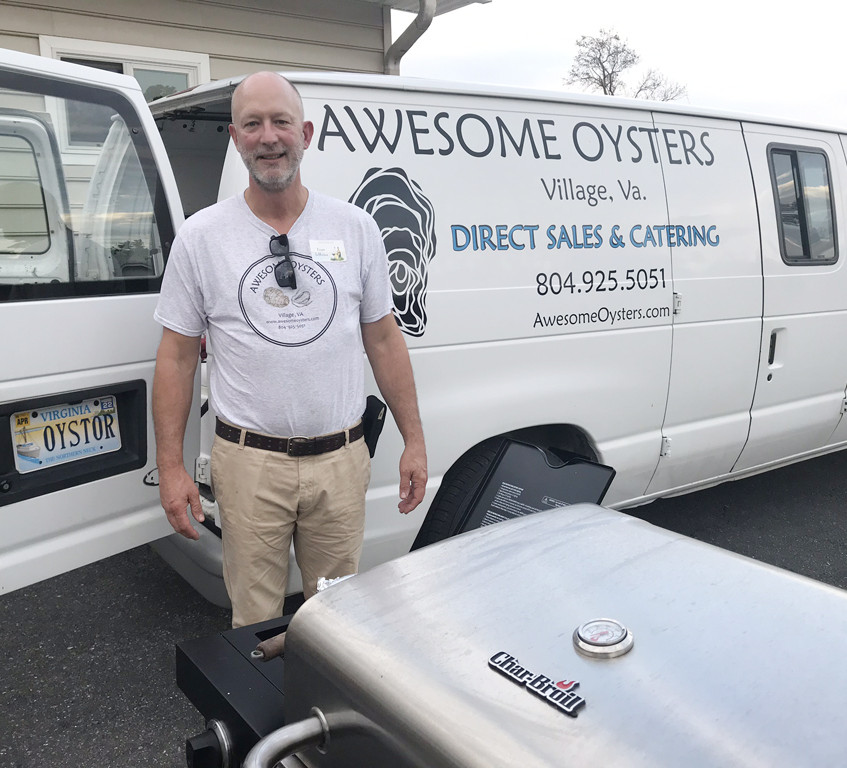 Tom Jeffries of Awesome Oysters LLC