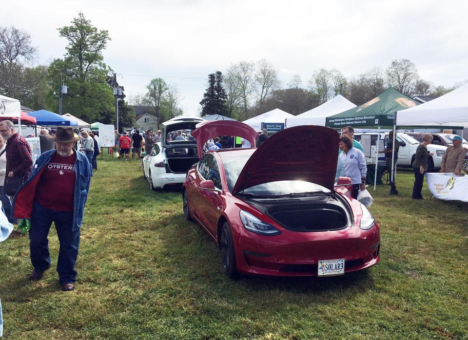 All-Electric Vehicle Exhibit