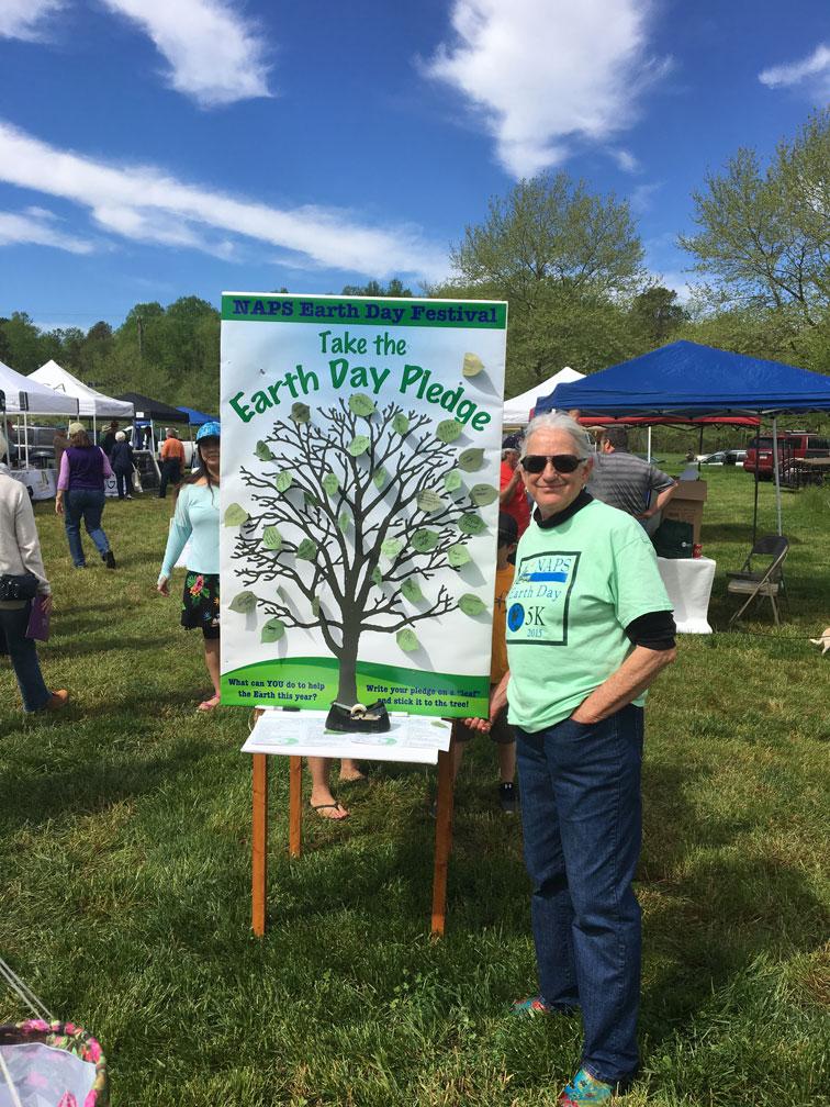 Earth Day Pledge Tree