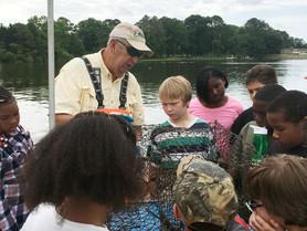 38 Students Enjoy the Bay on NAPS-Sponsored Eco-Tour