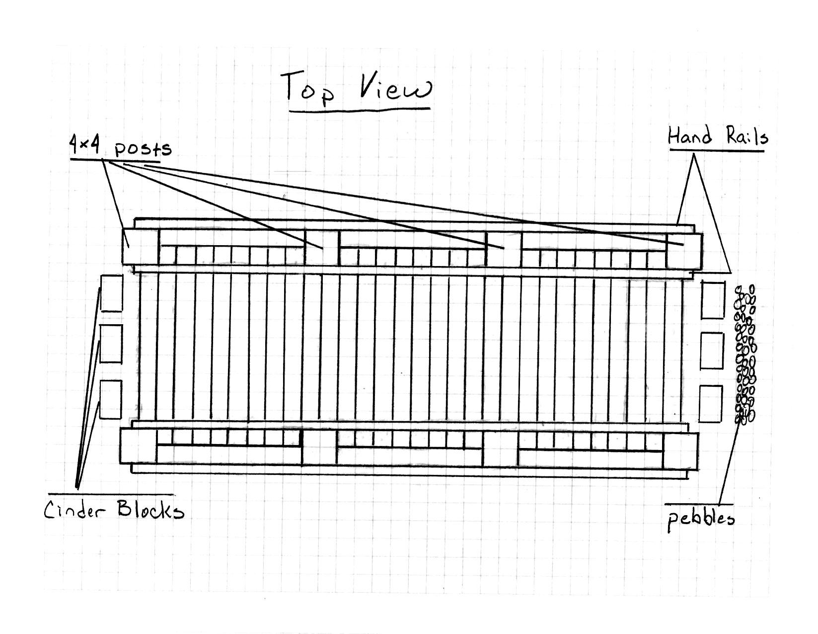 Bridge Drawing-Top View