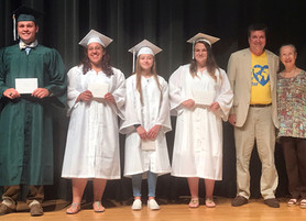 NAPS Awards Scholarships to Four Northumberland High School Seniors