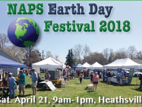 Get Ready for the NAPS Earth Day Festival, Sat. Apr. 21