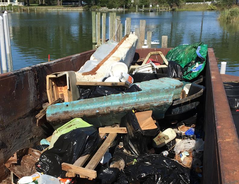 Dumpster Getting Full
