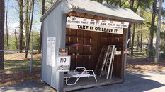 'Too-Good-To-Throw-Away' Shed Closed Until Stay Home Order Lifted