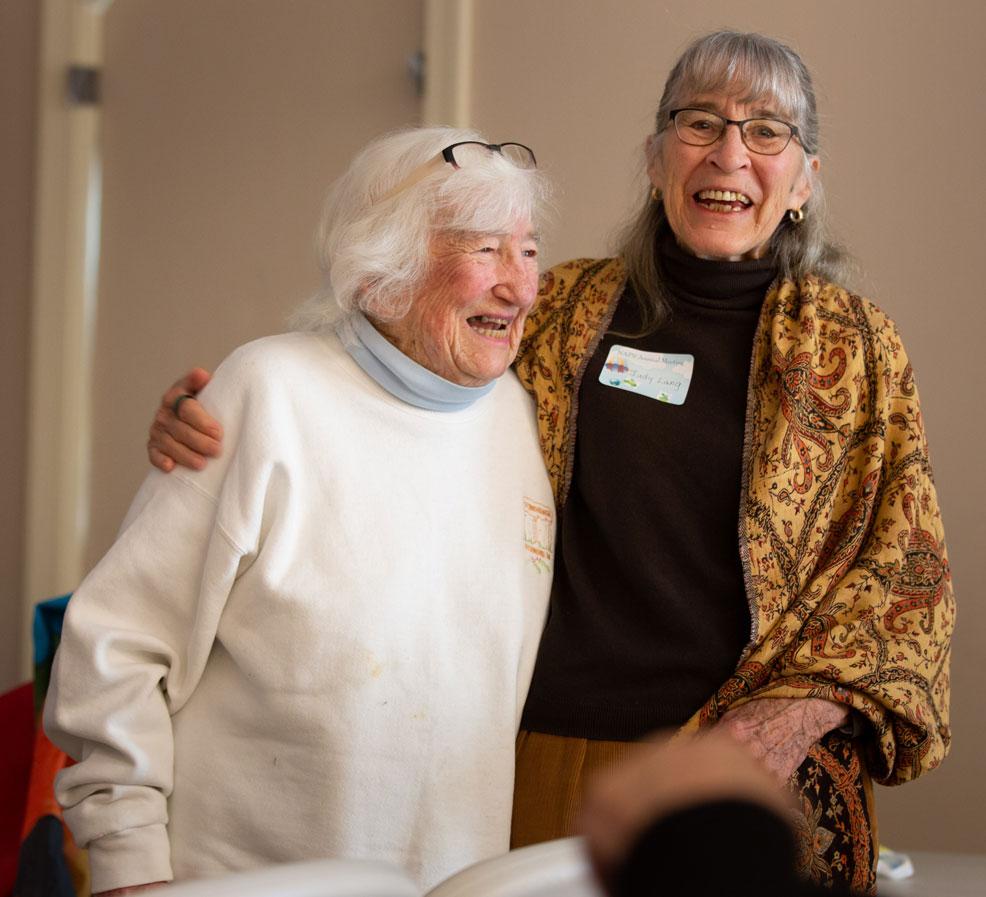 Keese Williams and Judy Lang