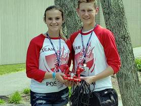 NAPS-Sponsored Robotics Team Takes 8th in the Nation